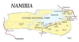 Mapa E.N.P.
