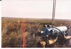 Bomba de agua en pleno desierto