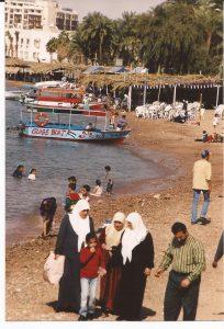 Petra, Playa de Ácaba