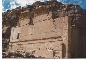 Petra Templo del Dios