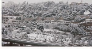 Gerasa Amman paisaje de nieve (FILEminimizer)