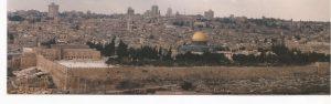 La cúpula de la Roca, Panoramica d Jerusalén (FILEminimizer)