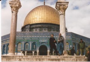 La cúpula de la Roca, nosotros ante la  Cúpula (FILEminimizer)