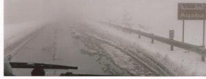 Nieve en el desierto, Nieve en la salida de Amman (FILEminimizer)