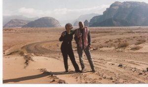Nieve en el desierto, Wadi Rum, hora del té (FILEminimizer)