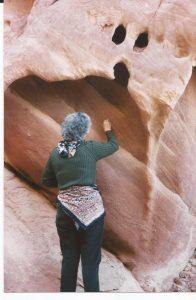 Nieve en el desierto, Wadi Rum, rocas 1 (FILEminimizer)