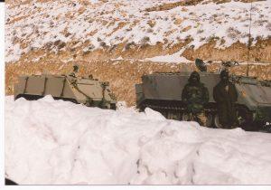 Nieve en el desierto, ejercito jordano 1